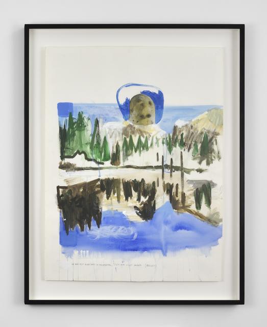 , 'Ce qui est bien dans le monumental, c'est que c'est grand (projet de sculpture),' 2012, Galerie Thomas Bernard