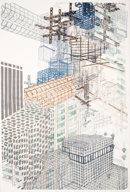 , 'Infrastructure #3,' 2012, Tamarind Institute