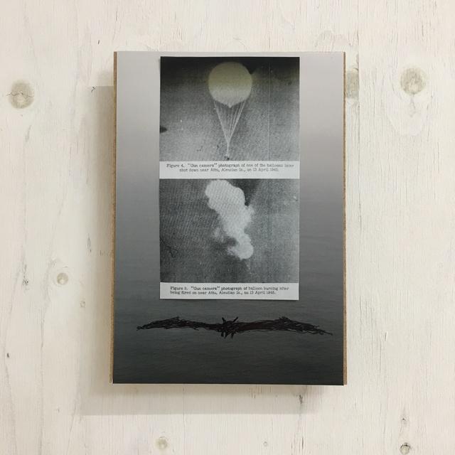 , 'Following the balloon near Attu, Aleutian Is,' 2019, SNOW Contemporary