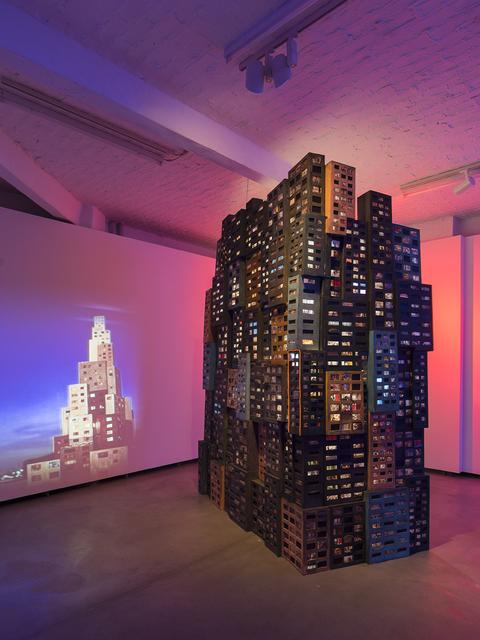 , 'Tenement Rising,' 2016, Studio la Città