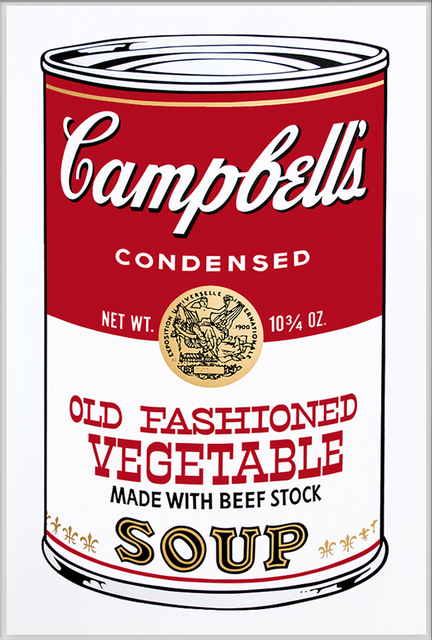 Andy Warhol, 'Campbell's Soup II, II.54 Old Fashioned Vegetable', 1969, Print, Color screenprint, Elizabeth Clement Fine Art