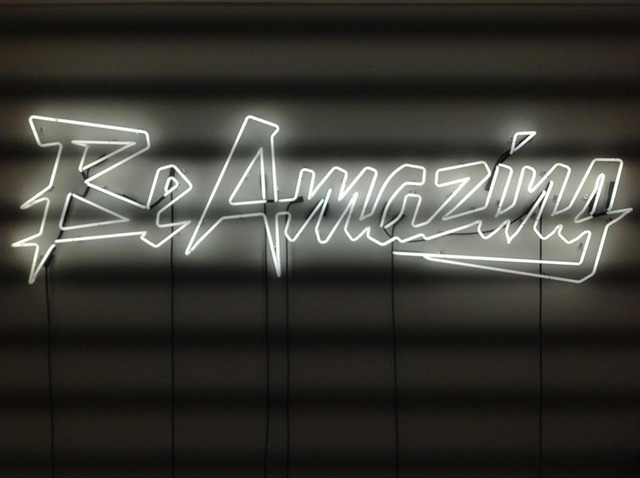 , 'Be Amazing (White),' 2013, Patricia Low