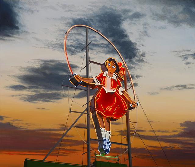 Jim Thalassoudis, 'Little Audrey the Skipping Girl', 2019, Print, Limited edition archival pigment print on cotton rag 310 GSM paper, Angela Tandori Fine Art