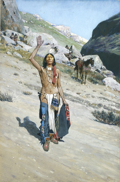 , 'Peace Be with You,' 1889, Blanton Museum of Art