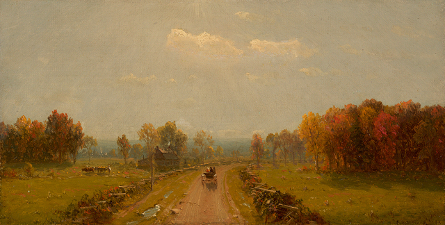 , 'Carriage on a Country Road,' 1863, Questroyal Fine Art