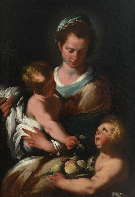 Bernardo Strozzi, 'Madonna & Child with St. John the Baptist', Robilant + Voena