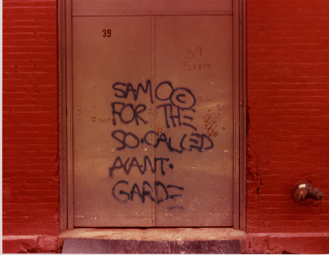, 'The SAMO© Graffiti,' 1971, MoMA PS1