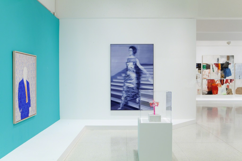 "Installation view, ""International Pop"", 2015"