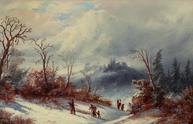 , 'The Hunter's Return,' , Questroyal Fine Art