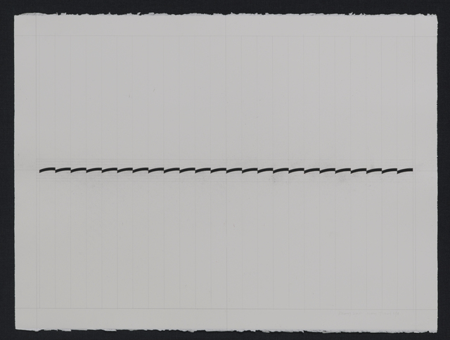 , 'Stroke-line_1,' 2015, AANDO FINE ART