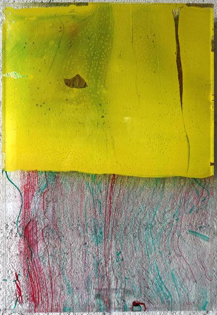 , 'Untitled Hansa Yellow,' 2018, JanKossen Contemporary