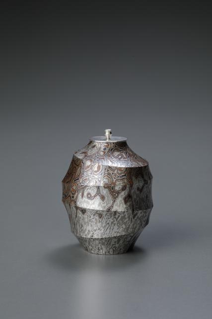 , 'Mokume-gane Tea Caddy 02,' 2017, Onishi Gallery