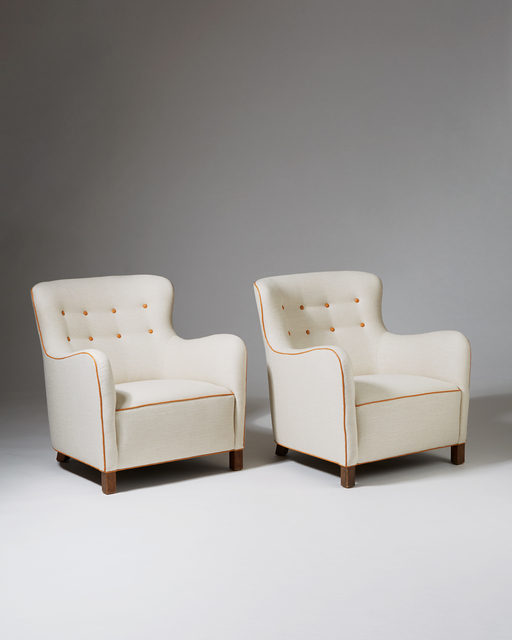 , 'Pair of armchairs,' 1937, Modernity