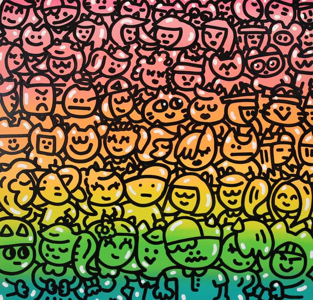 , 'Manifestation pacifique de chas,' 2016, Galerie Galea
