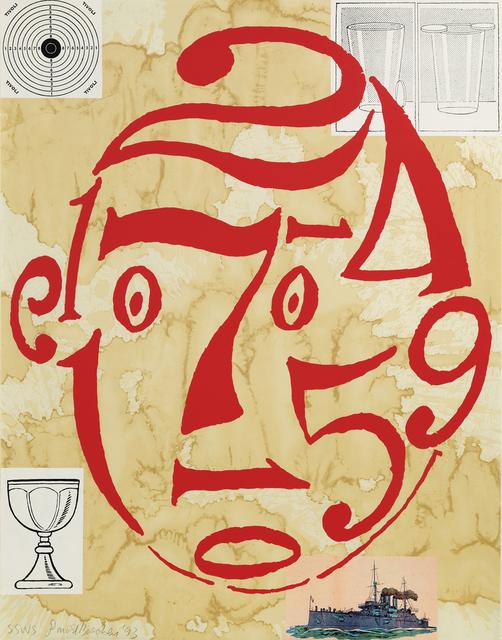 Donald Baechler, 'Untitled (a pair of works)', 1993, Print, Serigraph, Hindman