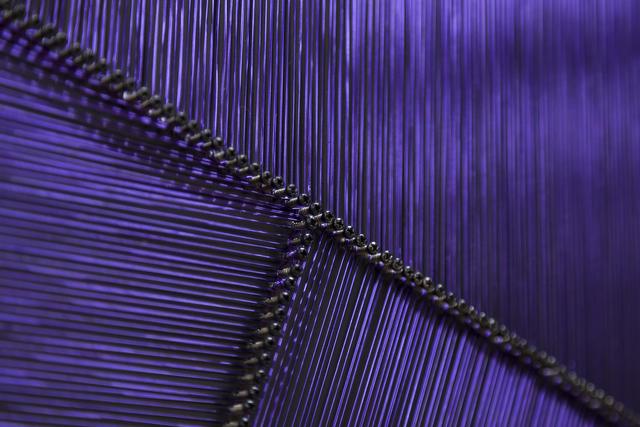 , 'Purple Pieces (Detail),' 2017, Pi Artworks Istanbul/London