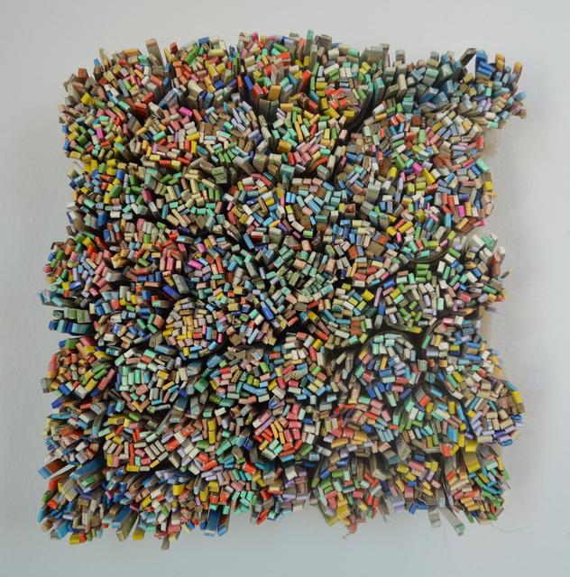 , 'Unruly (rainbow series),' 2017, John Davis Gallery