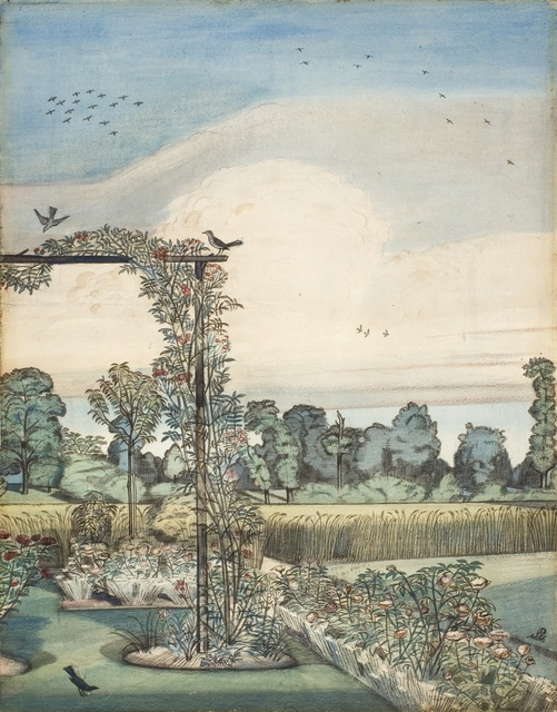 , 'The Garden at Iver Heath,' 1912, Piano Nobile
