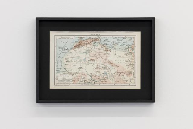 , 'Sahara (Brockhaus Konversations-Lexikon, 14. Ed., 1898),' 2017, Kunstverein Reutlingen