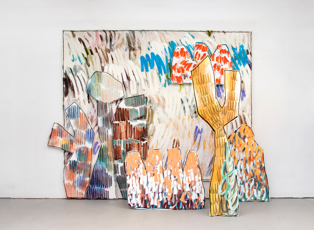 , 'Standing,' 2019, Denny Dimin Gallery