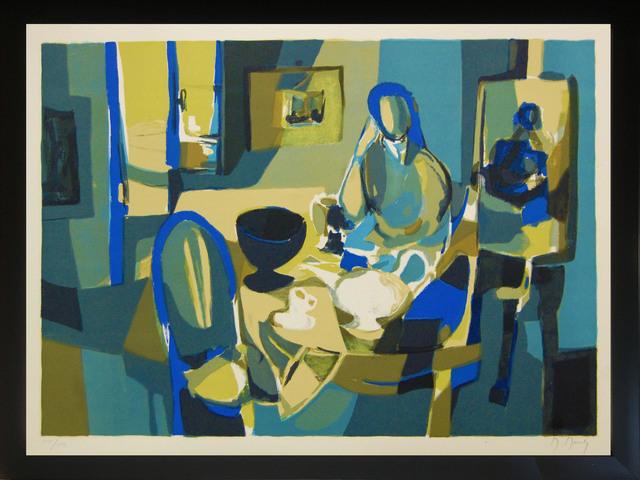 Marcel Mouly, 'Intérieur', 1980, Print, Color Lithograph on Arches Paper, Baterbys