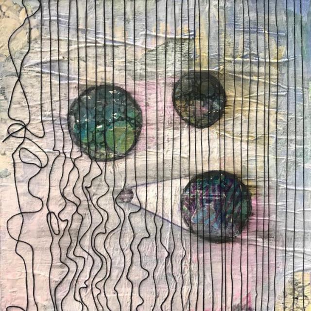 , 'I am Nothing Like the Moon,' 2018, InLiquid