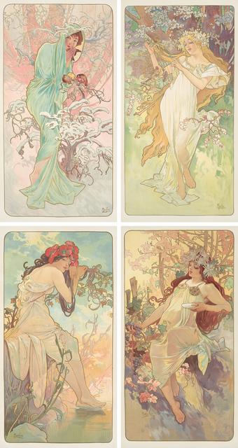 , 'The Seasons.,' 1896, Rennert's Gallery