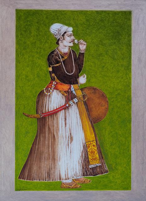 , 'Raja Maan Singh,' 2016, Albemarle Gallery   Pontone Gallery