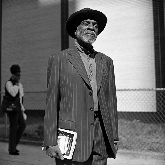 , 'The Man with the Black Hat,' 2016, Brannan Mason Gallery
