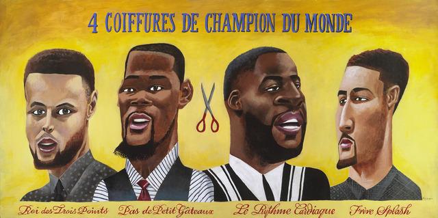, '4 Coiffures De Champions Du Monde,' 2017-2018, Modernism Inc.