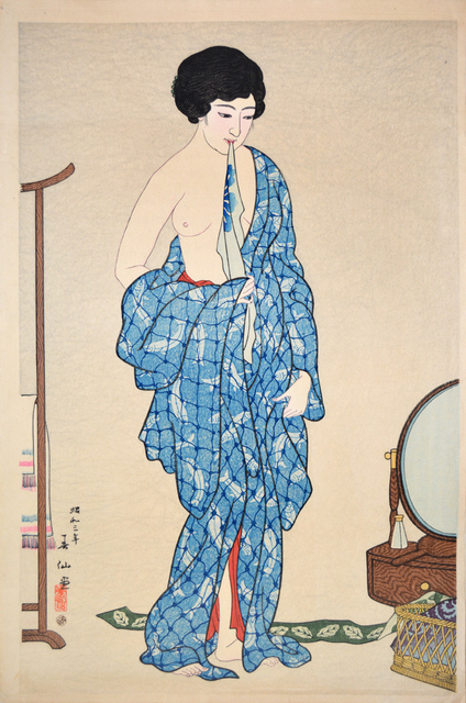 Natori Shunsen, 'After a Bath', 1928, Ronin Gallery