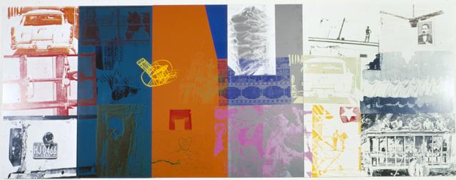 Robert Rauschenberg, 'Cuban Acre / ROCI CUBA', 1988, Academy Art Museum
