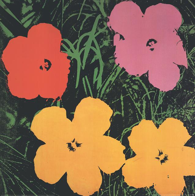 Andy Warhol, 'Flowers (Lg)', 1993, ArtWise