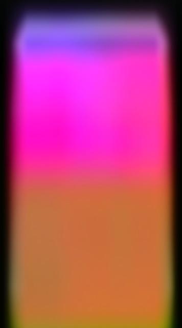 , 'perceptual series, glowing wedge,' 2015, galerie burster