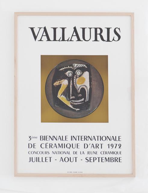 , 'Vallauris 3ème Biennale Internationale de la Céramique d'art 1972,' 1972, BASTIAN