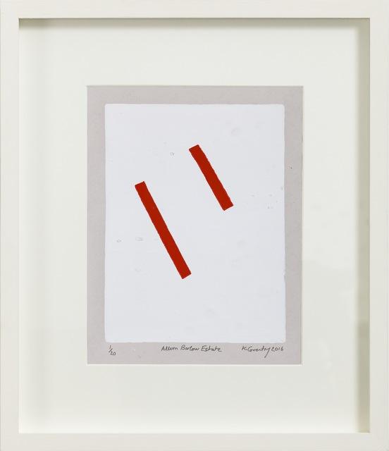 , 'Allom Barlow Estate,' 2016, Paul Stolper Gallery