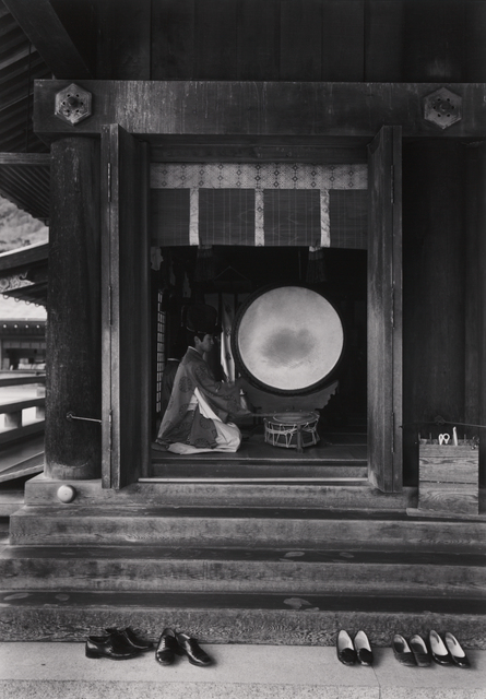 Paul Caponigro, 'Drummer – Izumo-Tai, Japan', 1976, Pucker Gallery