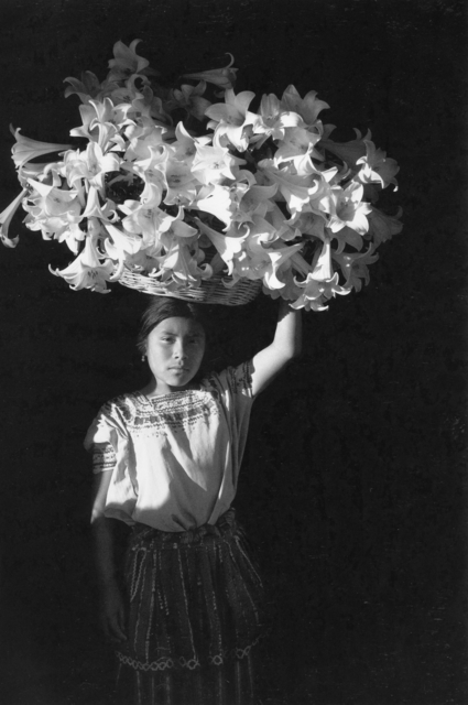 Flor Garduño, 'Basket of Light, Sumpango Guatemala', 1989, Peter Fetterman Gallery