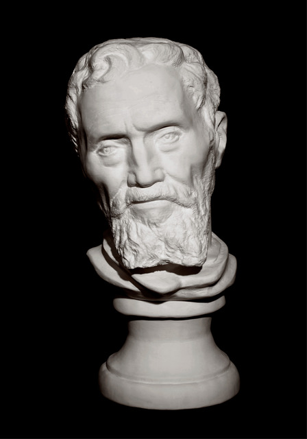 , 'Bust of Michelangelo,' 2012, Klein Sun Gallery