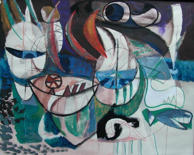 Wim Kersten, ''the whale'', ca. 1950, CREATIE ART