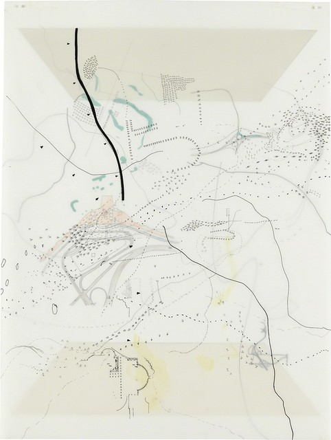 Julie Mehretu, 'Untitled (Court)', 1998, Burnet Fine Art & Advisory