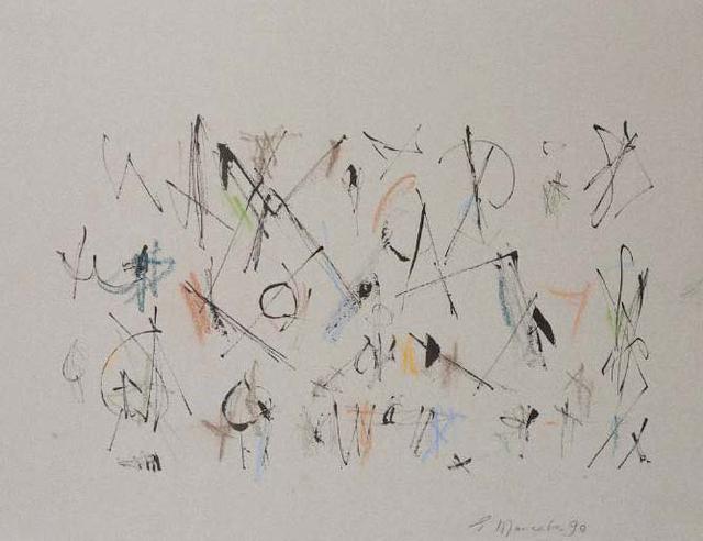 , 'Untitled (Calligraphic 4),' 1990, Aicon Gallery