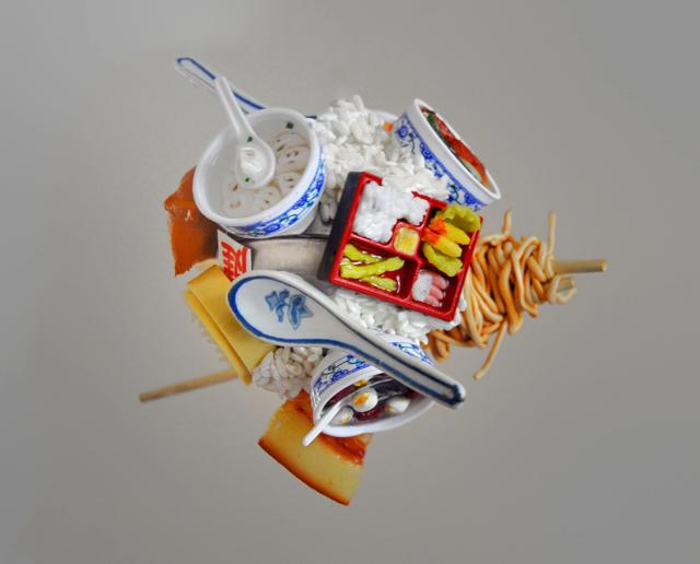 , 'Spherical Postcards; Food,' 2014, The Directed Art Modern