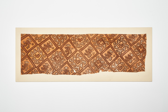 , 'Chancay Painted Textile Fragment,' c. 1000-1425 AD, Stuart & Co. Gallery
