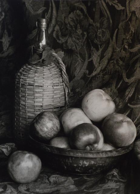 , 'Still Life : Apples & Wine Keg,' 2018, The Galleries at Salmagundi