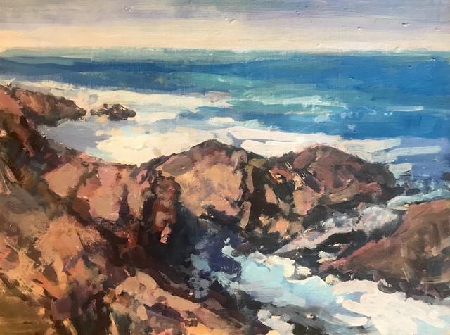 , 'Coast Near El Capitan,' 2018, Pauline Johnson-Brown