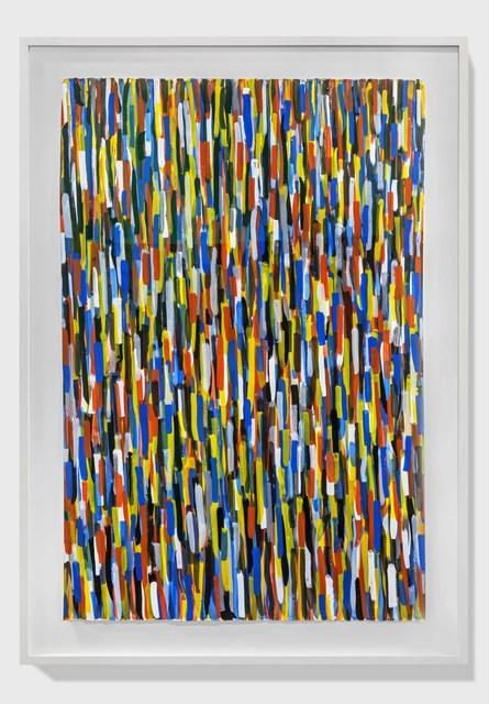 , 'Vertical Brushstrokes in All Directions,' 1993, Alfonso Artiaco