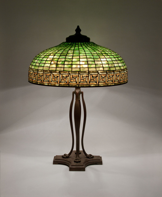 , 'Greek Key Table Lamp,' ca. 1906, Lillian Nassau LLC