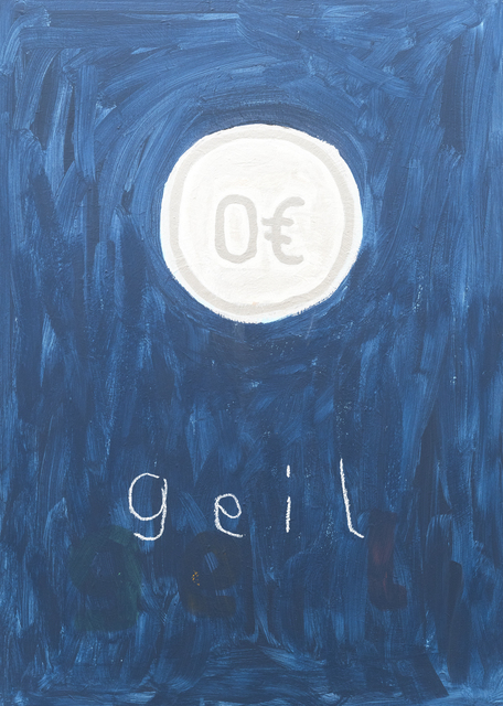 , 'o.T. (geil),' 2016, Ruttkowski;68