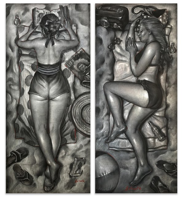 , 'Summertime Bliss Diptych Study,' , Joanne Artman Gallery